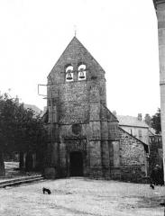 Eglise Saint-Pardoux - Façade ouest