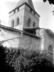 Eglise et son cloître - Eglise : Clocher, côté nord-est