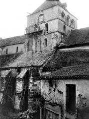 Ancien prieuré Saint-Jean - Eglise Saint-Astier : Façade sud