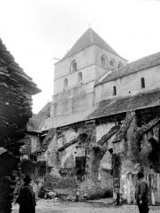 Ancien prieuré Saint-Jean - Eglise Saint-Astier : Façade nord