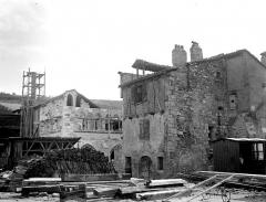 Hôtel des Monnaies - Vue d'ensemble du chantier de restauration