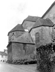 Eglise Saint-Etienne - Abside, au nord