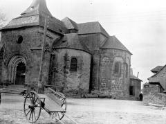 Eglise Saint-Etienne - Abside, au sud
