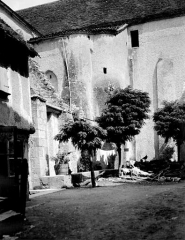Ancienne abbaye Saint-Pierre - Eglise : Façade nord