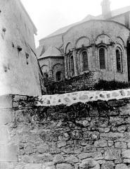 Eglise abbatiale Saint-André et Saint-Léger - Abside