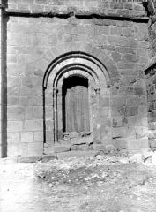 Eglise abbatiale Saint-André et Saint-Léger - Portail