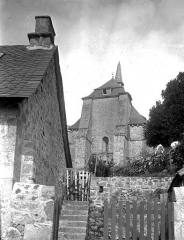 Ancien prieuré Saint-Michel des Anges - Eglise : Ensemble ouest