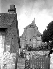 Ancien prieuré Saint-Michel des Anges - Eglise : Ensemble ouest