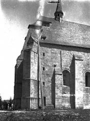 Ancien prieuré Saint-Michel des Anges - Eglise : Angle sud-ouest