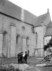 Ancien prieuré Saint-Michel des Anges - Eglise : Façade sud