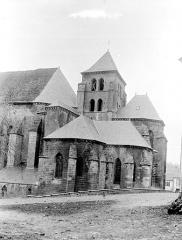 Eglise - Clocher et abside, état après restauration