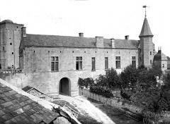 Château du Grand Pressigny - Château-Neuf : Façade ouest