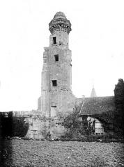 Château du Grand Pressigny - Tour Vironne, côté nord-ouest