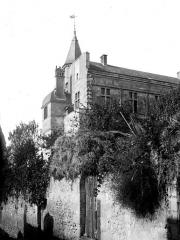 Château du Grand Pressigny - Château-Neuf : Angle sud-est