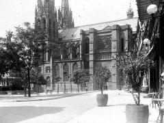 Cathédrale Notre-Dame - Partie de la façade sud