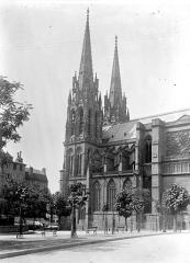 Cathédrale Notre-Dame - Clocher, au sud