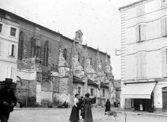 Ancienne abbaye de Moissac - Façade latérale