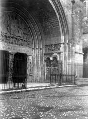 Ancienne abbaye de Moissac - Porche