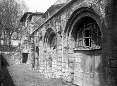 Ancienne abbaye Saint-Pierre - Salle capitulaire : Façade en perspective