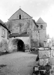Eglise Saint-Sanctin ou Saint-Xantin - Façade ouest