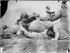 Palais du Louvre et jardin des Tuileries - Statue du Nil, groupe sculpté