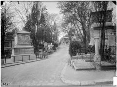 Cimetière de l'Est dit cimetière du Père Lachaise - Carré des Généraux