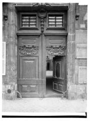 Hôtel - Portail de la façade sur rue