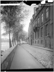 Hôtel de Lauzun ou Hôtel de Pimodan - Vue du quai