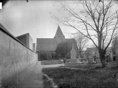 Eglise Saint-Germain-de-Charonne - Clocher et cimetière