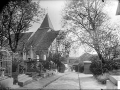 Eglise Saint-Germain-de-Charonne - Vue du clocher