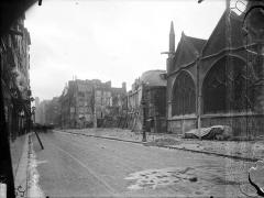 Eglise Saint-Séverin - Vue générale sur rue