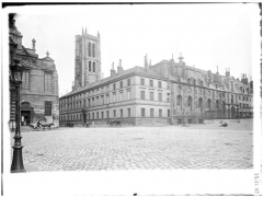 Ancienne abbaye Sainte-Geneviève, actuel lycée Henri IV - Vue générale