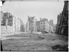 Cathédrale Notre-Dame - Vue des démolitions