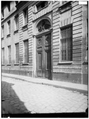 Ancien Collège des Irlandais ou Collège des Lombards, Eglise Saint-Ephrem - Vue générale sur rue