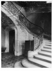 Ancien hôtel d'Aubray - Rampe d'escalier en fer