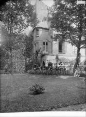 Ancien hôtel d'Aubray - Façade sur jardin