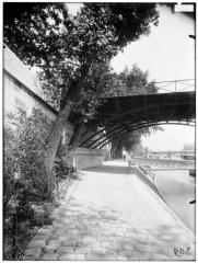 Pont des Arts - Vue du quai