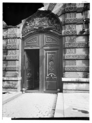 Palais du Louvre et jardin des Tuileries - Porte Visconti
