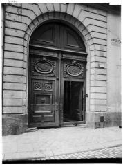 Maison (ancien hôtel d'Aguesseau) - Portail