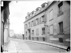 Pavillon de Balzac, actuellement musée - Vue générale sur rue