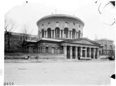 Ancienne barrière d'octroi de la Villette ou rotonde de la Villette - Vue générale