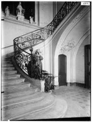 Maison dite aussi Hôtel d'Ecquevilly ou du Grand Veneur - Cage d'escalier