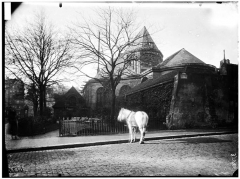 Eglise Saint-Médard - Façade est, abside