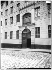 Collège des Ecossais - Façade sur rue, portail