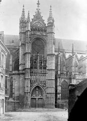 Cathédrale Saint-Etienne - Façade nord : transept