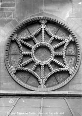 Cathédrale Notre-Dame - Façade sud : oculus